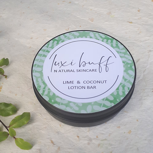 Lime and Coconut Lotion Bar