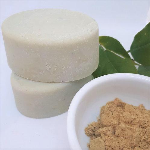 Green clay shaving soap