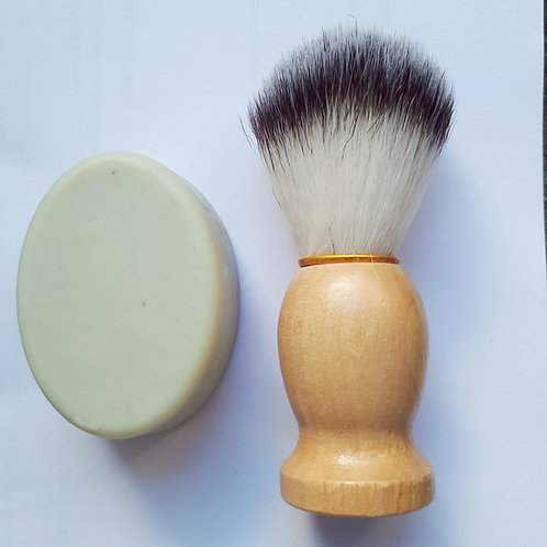 Shaving Brush and Soap Combo
