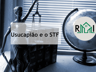 Usucapião e o STF