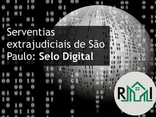 Serventias extrajudiciais de São Paulo: Selo Digital