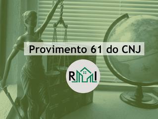 Provimento 61 do CNJ
