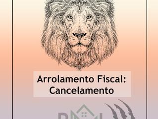 Além da Receita Federal, pode o particular requerer o cancelamento do arrolamento fiscal?