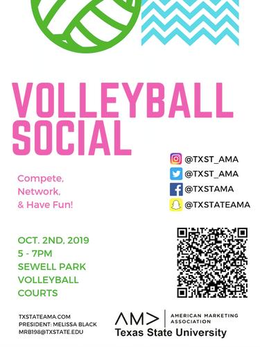 Marketing Week Volleyball Social