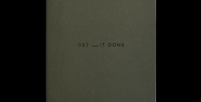 Get __it Done Minimal A5