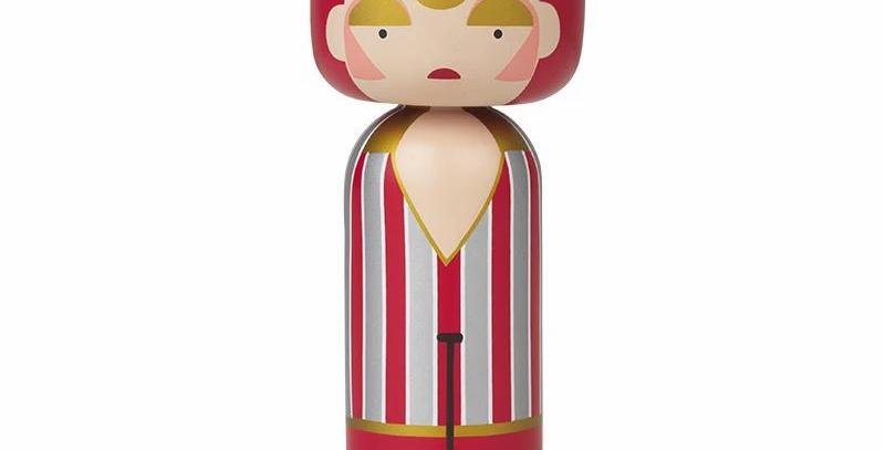 Lucie Kaas Kokeshi Doll -  Ziggy Stardust