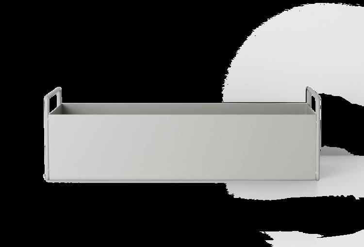 Ferm Living Light Grey Plant Box - Small