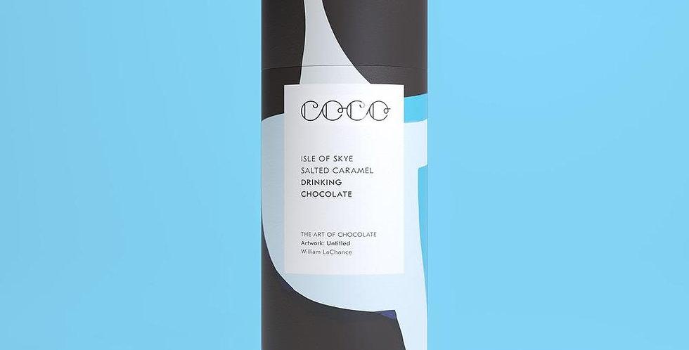 Coco Chocolatier Salted Caramel Drinking Chocolate Tube 200gr