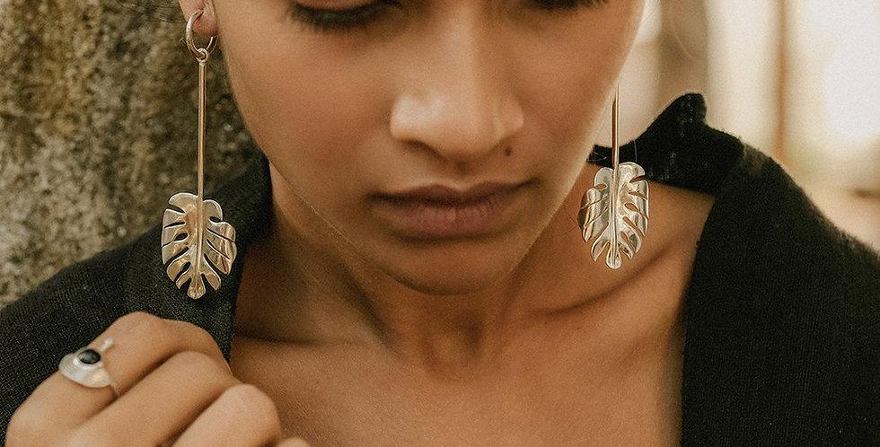 Rachel Entwistle Arcadia silver earrings