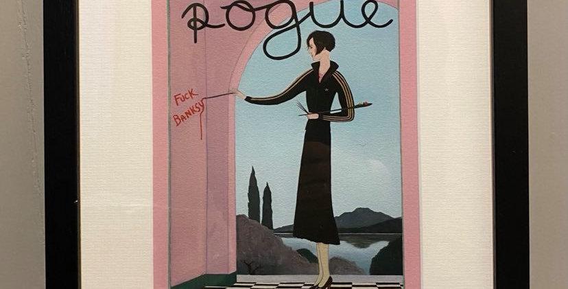 Ross Muir Rogue Framed Print with Mount