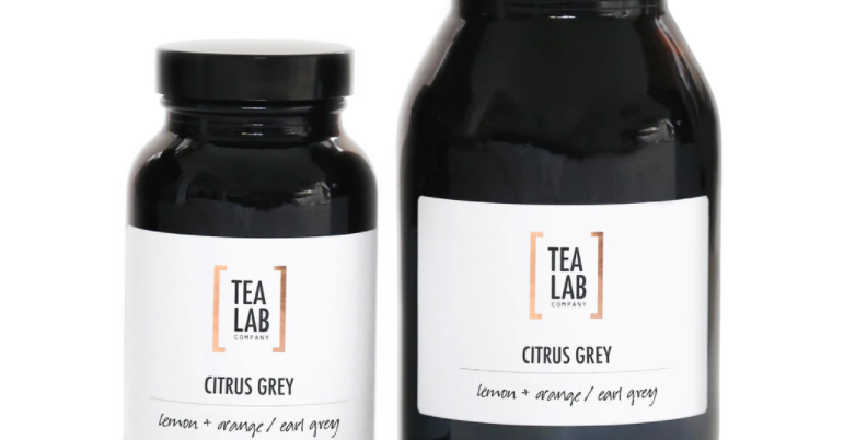 Organic Citrus Grey Jar