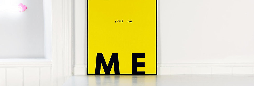 We Are Amused - Yellow All Eyes On Me