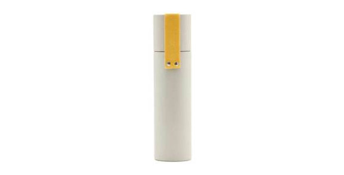 Monograph Grey / Yellow Tube Pencil Case