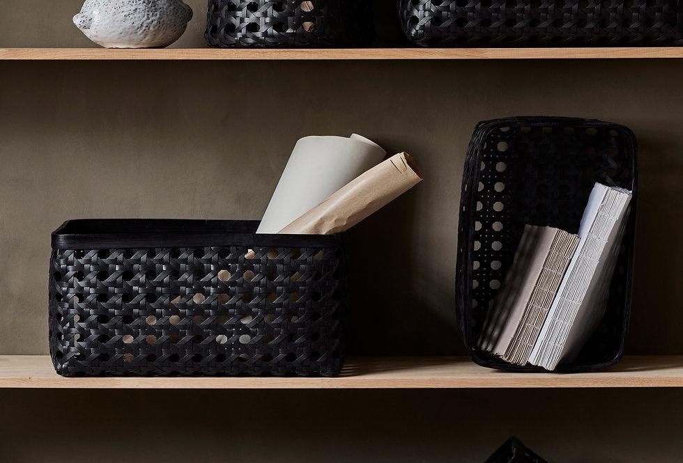 Day Birger Et Mikkelson Black Bamboo Baskets