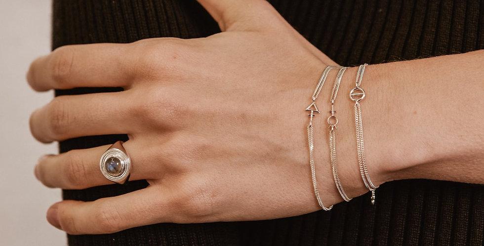 Rachel Entwistle Tria Prima Bracelet Silver