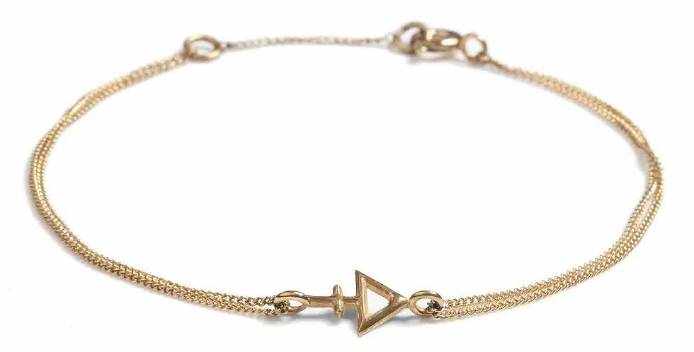Rachel Entwistle Tria Prima Bracelet Gold