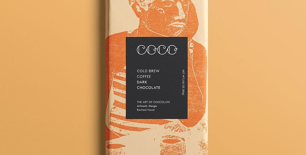 Coco Chocolatier Cold Brew Dark Chocolate Bar 80g