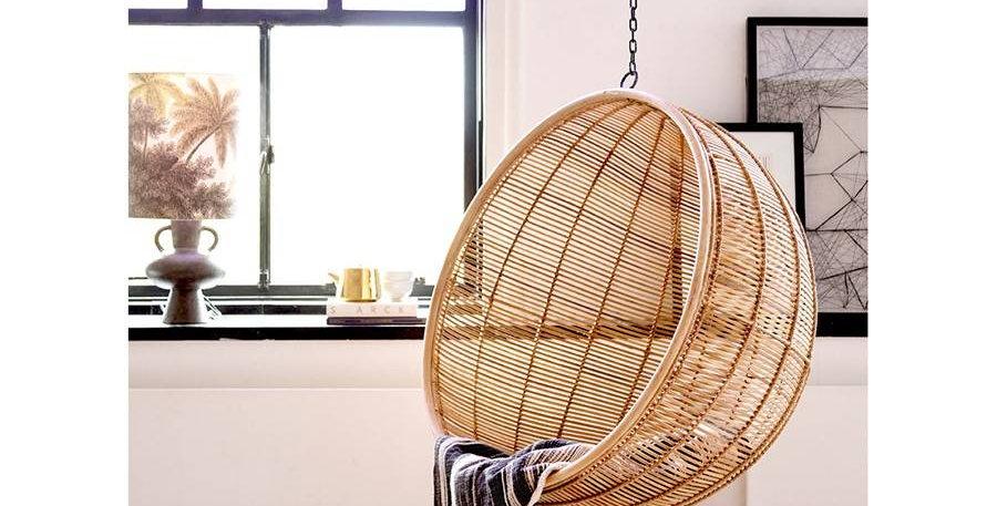 HK Living hanging bowl chair