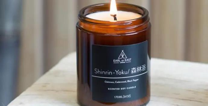 Earl of East Shinrin-Yoku soy wax candle