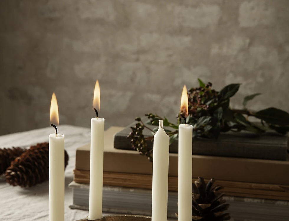 Ferm Living Small Brass Candle Bowl