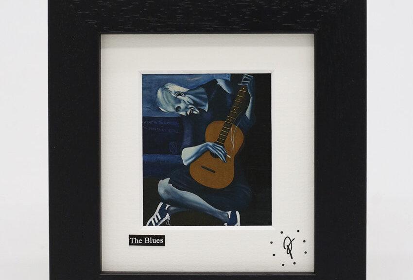 Ross Muir mini The Blues framed print
