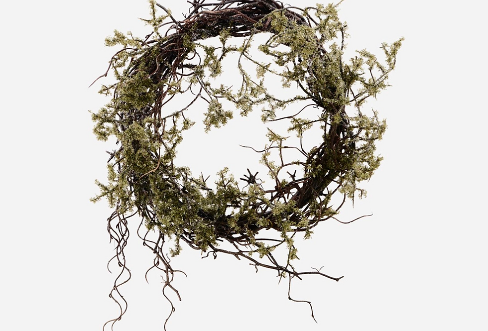House Doctor Wild Moss Wreath