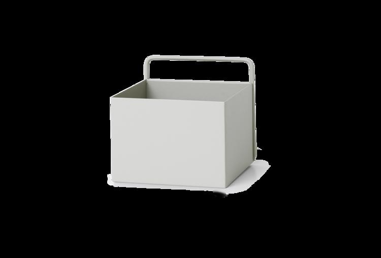 Ferm Living Light Grey Wall Box - Square