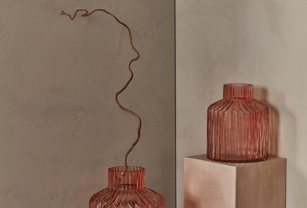 Day Birger Et Mikkelson Large Glass Tea Rose Vase
