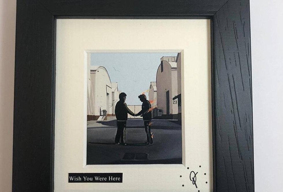 Ross Muir mini Wish You Were Here framed print