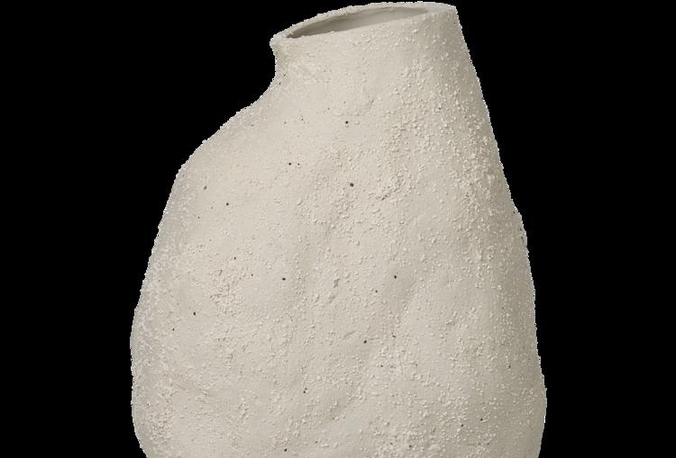 Ferm Living Medium Vulca Vase - Off-White