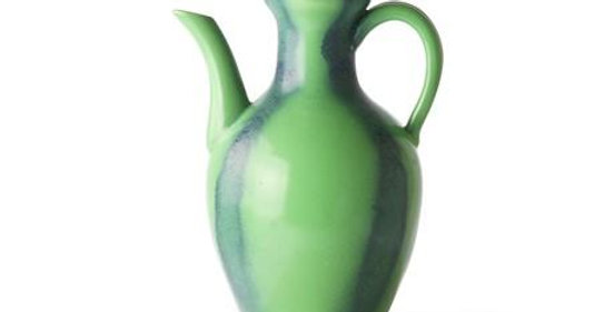 HKLiving Ceramic Green & Blue Jug