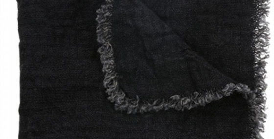 HK Living charcoal linen napkins (set of 2)