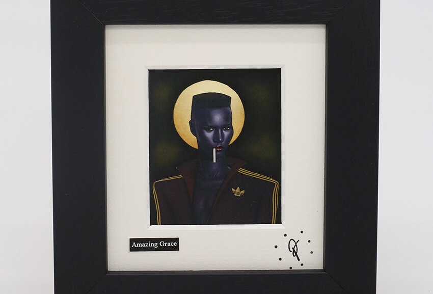 Ross Muir mini Amazing Grace framed print