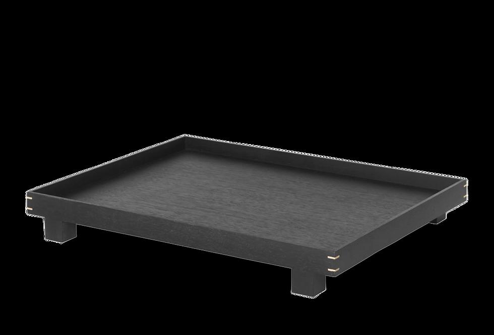 Ferm Living large black Bon tray