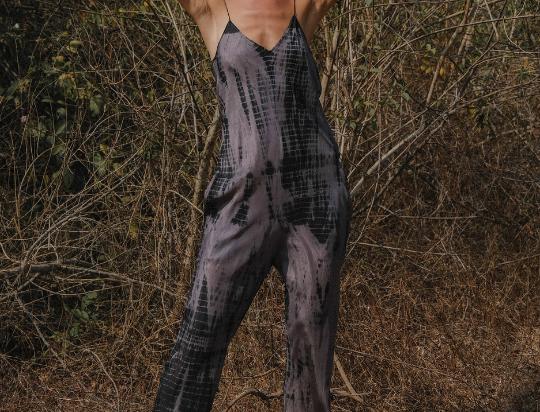 Fara Boutique Jaipur shadow tie dye jumpsuit