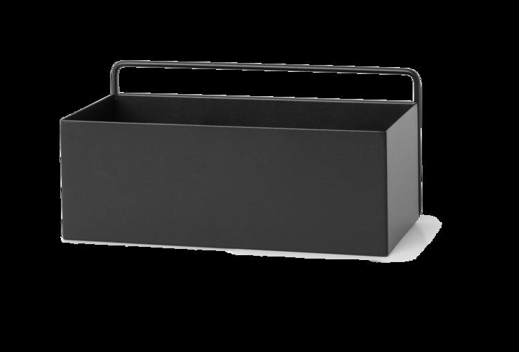 Ferm Living Black Wall Box - Rectangle