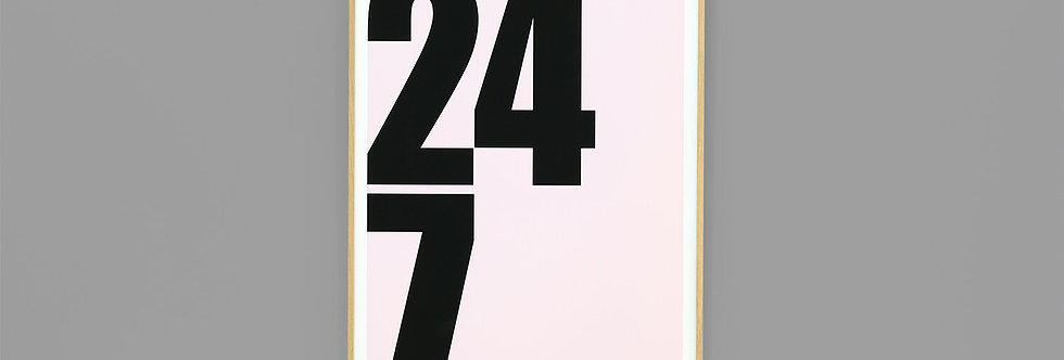 We Are Amused - 24/7 Print
