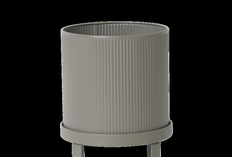 Ferm Living Bau Pot Small - Warm Grey
