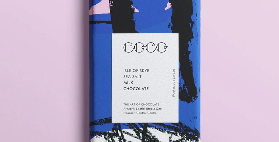 Coco Chocolatier Isle of Skye Dark Chocolate Bar 80g