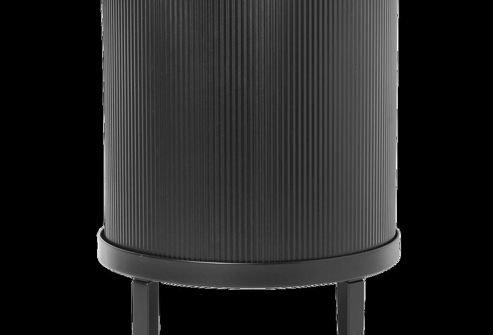 Ferm Living large black Bau pot