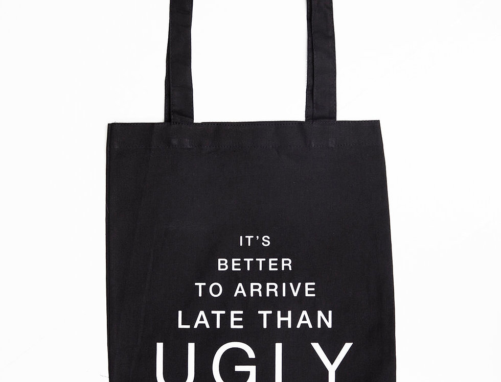 """Ugly"" Cardsome Cotton Tote Bag"