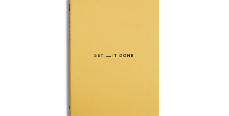 Get __It Done A6 Notebook