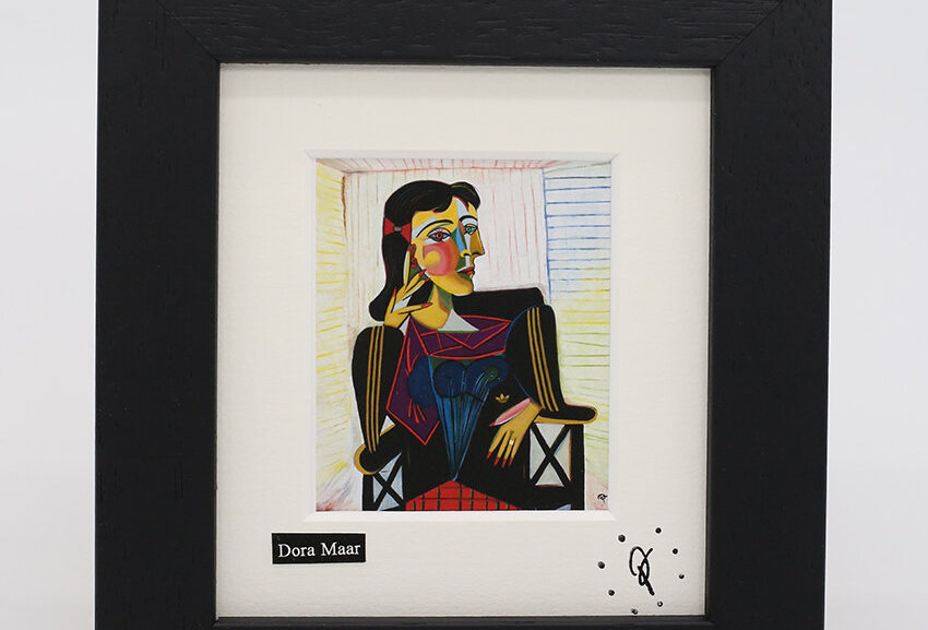 Ross Muir mini Dora Maar framed print