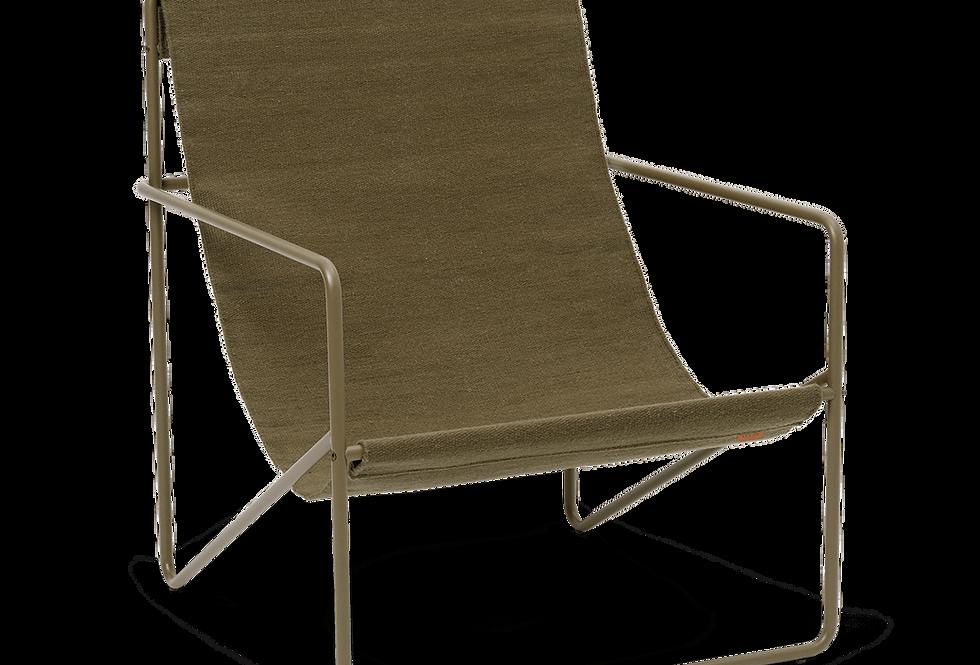 Ferm Living Desert Lounge Chair - Olive