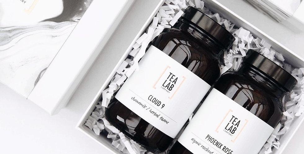 TeaLab Amber Jar Gift Box