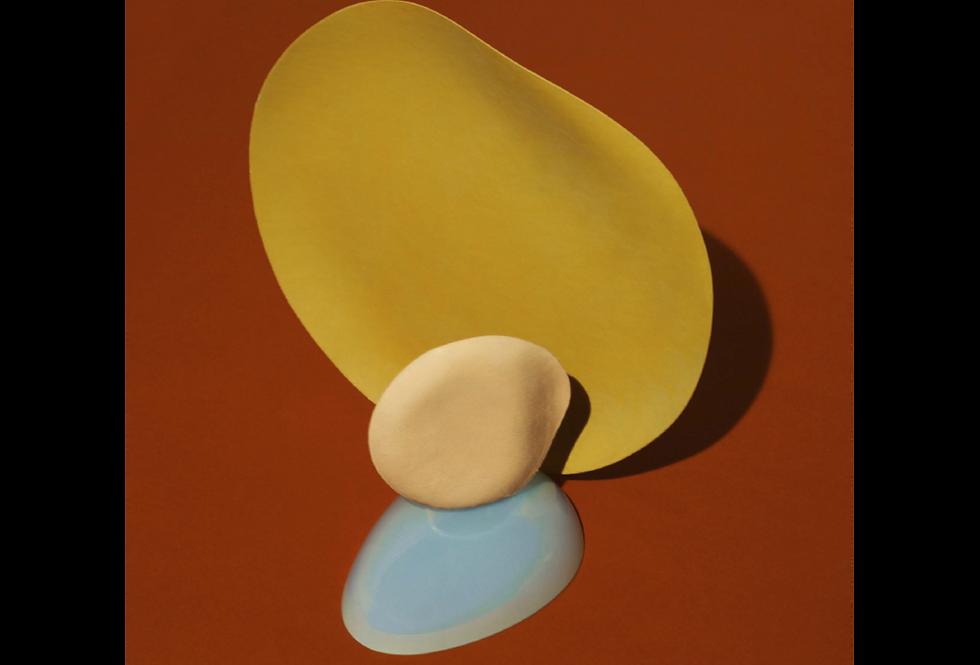 Ferm Living Nexus poster 4 (yellow)