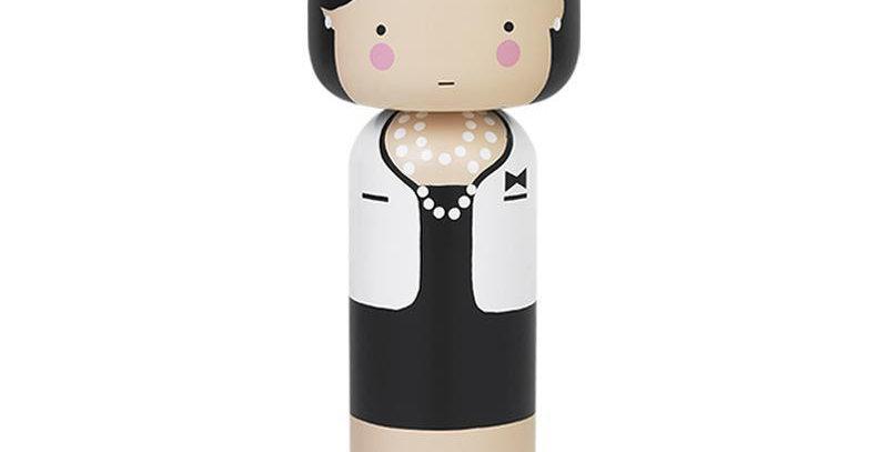 Lucie Kaas Sketch.Inc Kokeshi Doll- Coco
