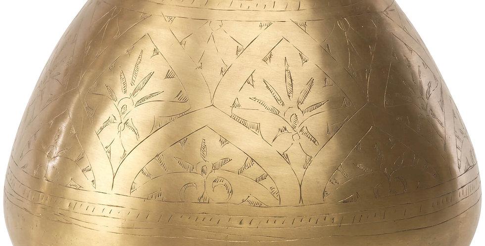 Nkuku Nami Brass Antique Pot