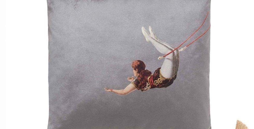 Melody Rose - Trapeze Girl Velvet Cushion