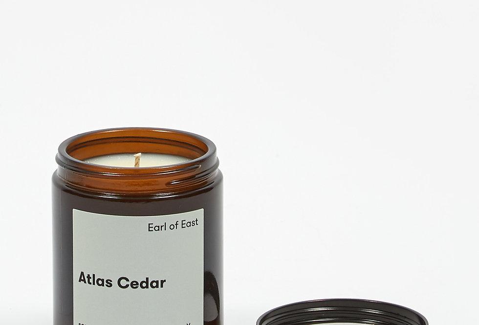 Earl of East Atlas Cedar soy wax candle